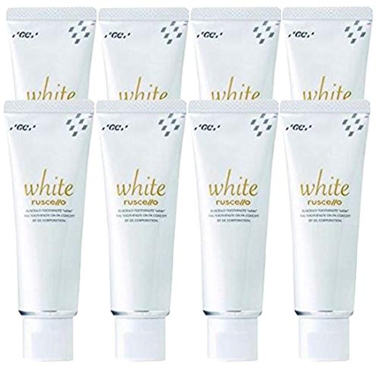 混合道を作る実証するジーシー GC ルシェロ 歯みがきペースト ホワイト 100g × 8本 医薬部外品