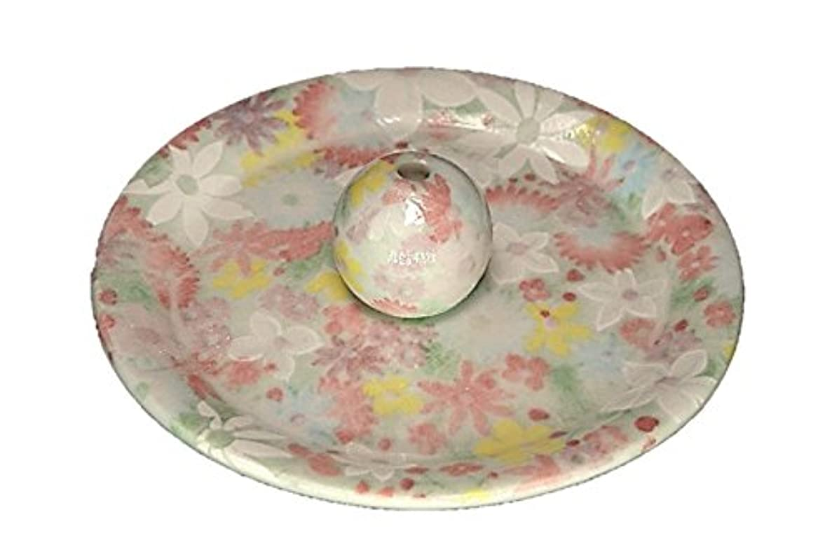 オリエンテーションネックレス木曜日9-38 華苑 9cm香皿 お香立て お香たて 陶器 日本製 製造?直売品