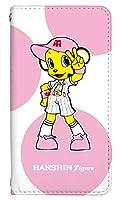 手帳型 スマホケース [Xperia Z5 SO-01H] ケース かわいい キャラクター 阪神タイガース コラボ デザイン 野球 0201-B. ラッキー so-01h sov32 501so カバー 手帳型ケース 人気 エクスペリア ゼットファイブ エクスペリアz5 ケース ベルトなし