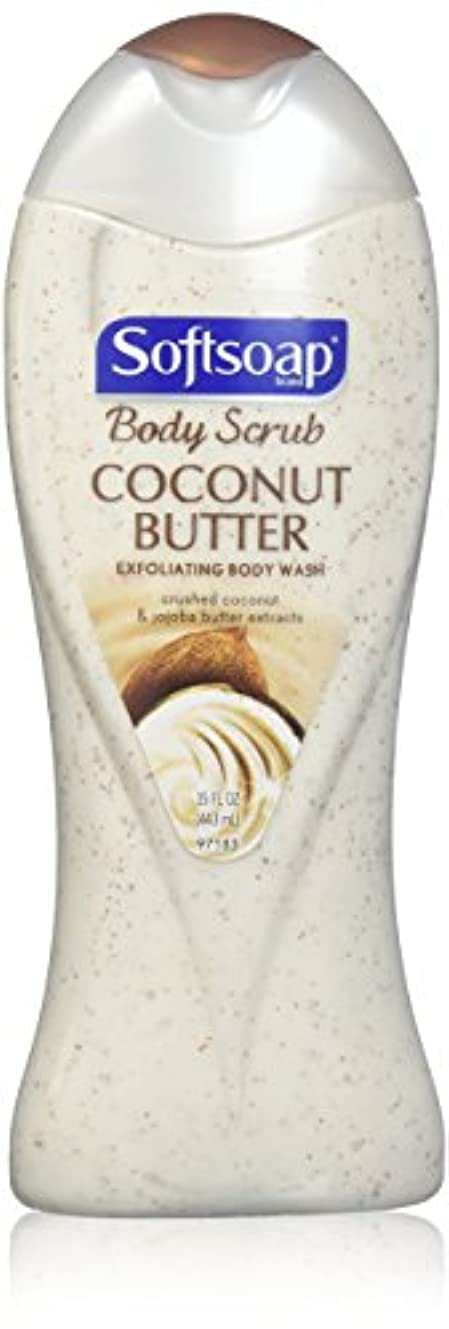 SOFTSOAP BODY WASH COCONT SCRB 15 OZ by Softsoap