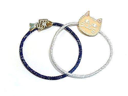 """[해외]Luccica 루찌카 """"아미고 헤어 고무""""느슨한 고양이 액세서리 동물 동물 고양이 고양이 귀여운 귀여운 물고기 피쉬/Luccica Lucica """"Amigo hair rubber"""" Yuru cat accessory Animal animals Cat cat Cat cute cute fish Fish"""