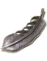 [ジュライス]juraice 4.0cm フェザーシルバーペンダント ネイティブアメリカン インディアンジュエリー シルバー925