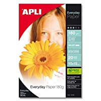 【APLI】インクジェットKG判光沢紙 中厚 20枚 (AP-12081)