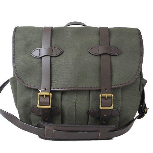 [フィルソン]FILSON 70232 Medium Field Bag フィールドバッグ ショルダーバッグ Otter Green オッターグリーン [並行輸入品]