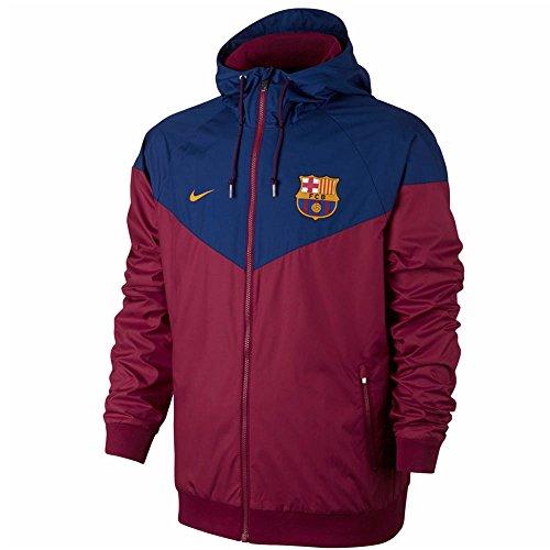 ナイキ FCバルセロナ 17-18 オーセンティック ウインドランナー ウーブン ジャケット