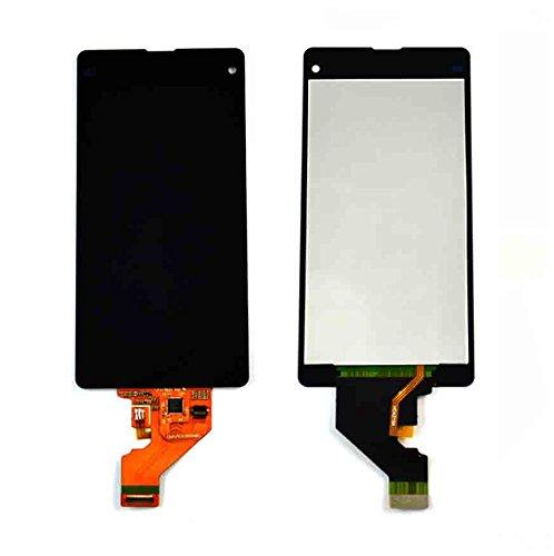 SKILIWAH® Sony Xperia Z1 Compact D5503専用 液晶パネル タッチパネルデジタイザー LCDスクリーン 修理用キット 工具セット付き ブラック