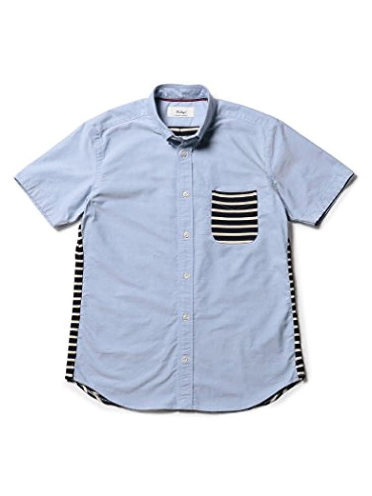 寄生虫チャット名前を作る(ノーリーズ グッドマン) NOLLEY'S goodman カットソーコンビボタンダウンシャツ 8-0086-2-51-012