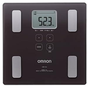 オムロン 体重・体組成計 カラダスキャン ブラ...の関連商品2