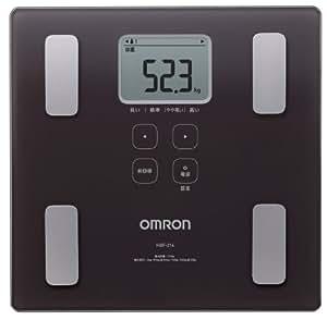 オムロン 体重・体組成計 カラダスキャン ブラウン HBF-214-BW