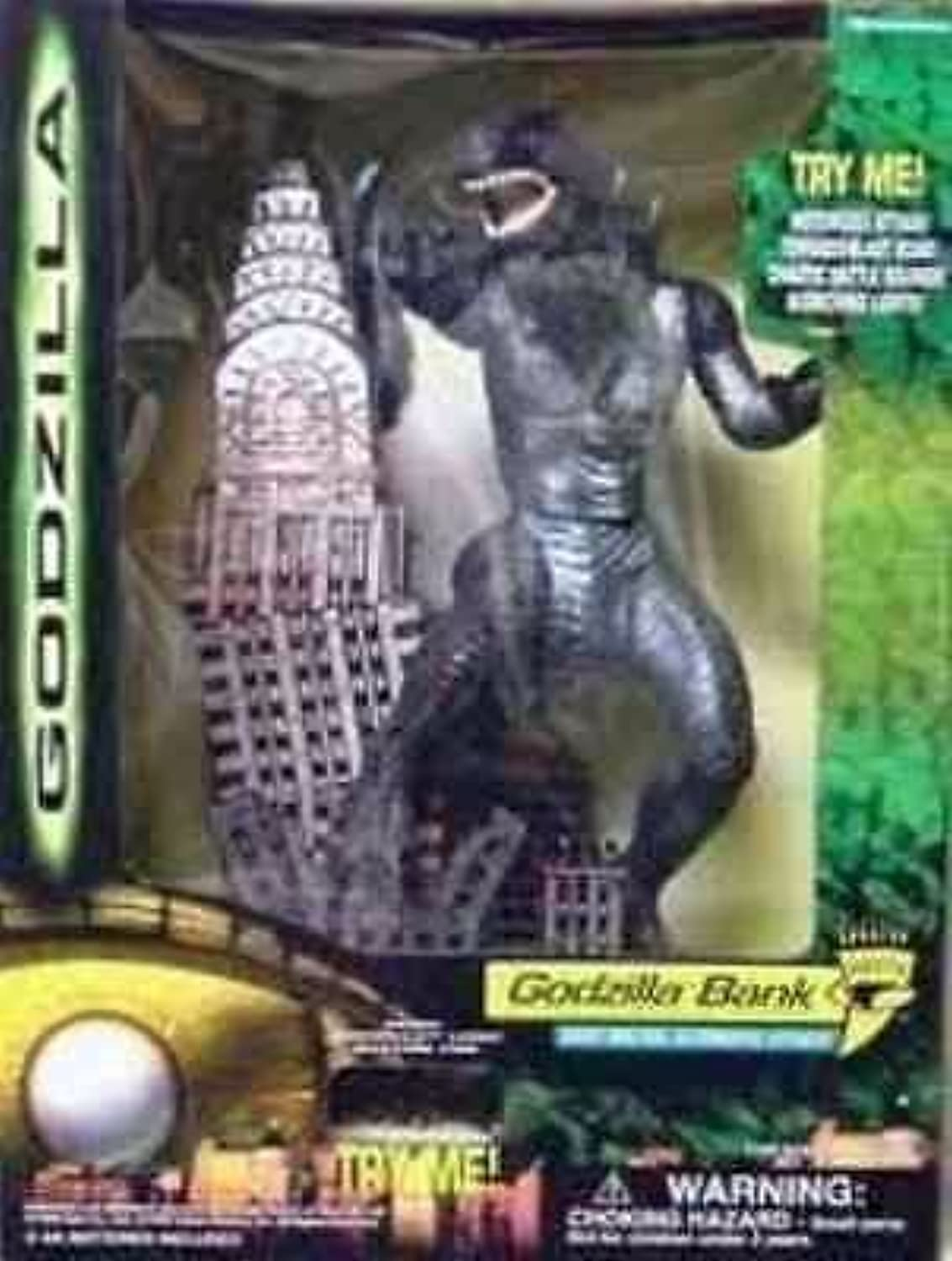 Electronic Godzilla Bank with Brutal Automatic Attack Action! [並行輸入品]