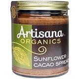 Artisana オーガニック サンフラワー カカオ スプレッド Organic Sunflower Cacao Spread (8oz) (227g) [海外直送品][並行輸入品]