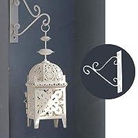 QIN クリスマス ハンギング 燭台フック 吊りフック レトロ装飾 結婚式、誕生日、新年、クリスマス、パーティーに最適 17 * 17CM