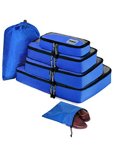 トラベルポーチセット アレンジケース 旅行用便利グッズ スーツケースインナーバッグ 衣類圧縮袋3色