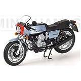 ミニチャンプス 122165301 1/12 モト・グッツィ 1976 MINICHAMPS MOTO GUZZI 850 LE MANS MKI silver & blue
