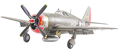 """1/48 傑作機 No.86 1/48 リパブリック P-47D サンダーボルト """"レイザーバック"""" 61086"""
