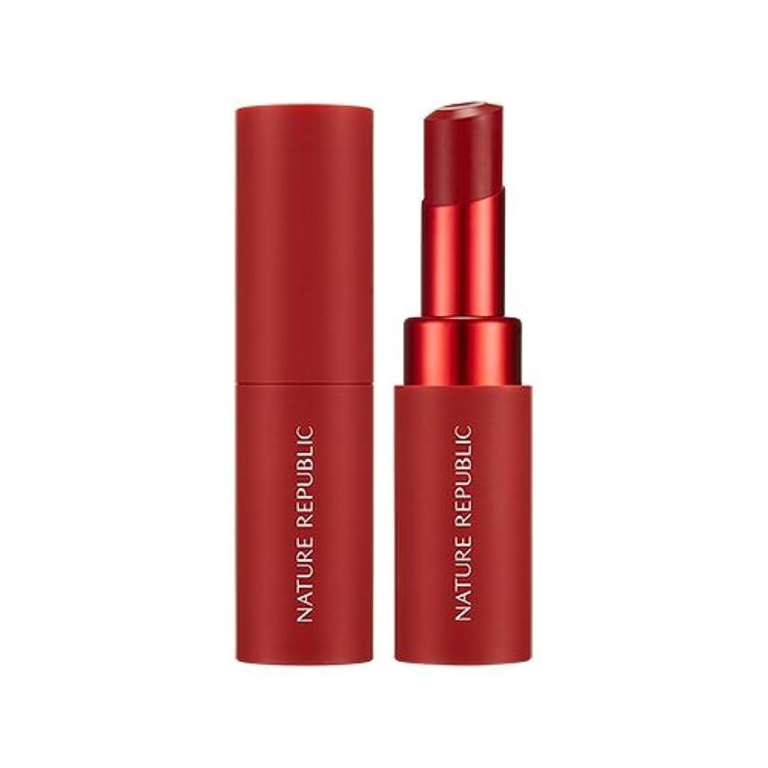 脅威それに応じて笑NATURE REPUBLIC Real Matte Lipstick (01 Real Red) / ネイチャーリパブリック リアルマットリップスティック [並行輸入品]