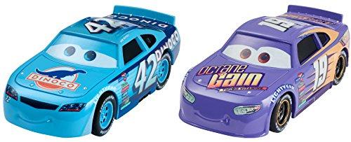 カーズ3 マテル 1:55 ダイキャスト ミニカー 2パック ボビー・スウィフト #19 & カール・ウェザース #42 / MATTEL 2017 CARS 3 BOBBY SWIFT & CAL WEATHERS 【並行輸入品】ディズニー ピクサー Disney PIXAR キャラクターカー 最新 映画
