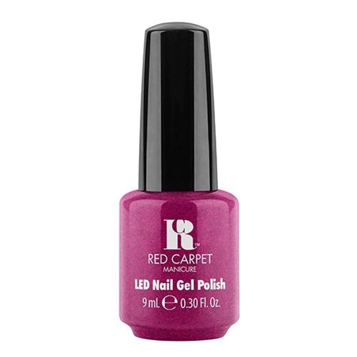 なる税金ピアノRed Carpet Manicure - LED Nail Gel Polish - Mei Mei I Ask You A Question? - 0.3oz / 9ml