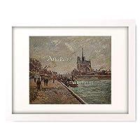 アルマン・ギヨマン 「Seinequai in Paris mit Blick auf Notre-Dame.」 額装アート作品