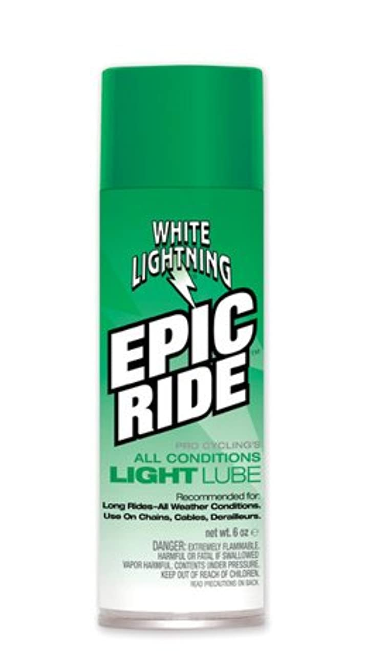 バウンスルビー相関するホワイトライトニング(WHITE LIGHTNING) TOS08701 エピックライドライトルーブ 225mlエアゾール Epic Ride Light Lube