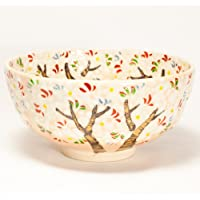 乾山写し 桜 抹茶碗