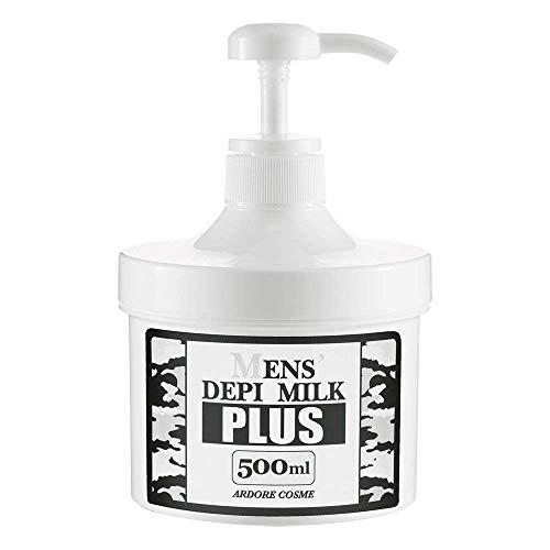 メンズデピミルクプラス 500ml(剛毛専用薬用除毛剤)医薬部外品