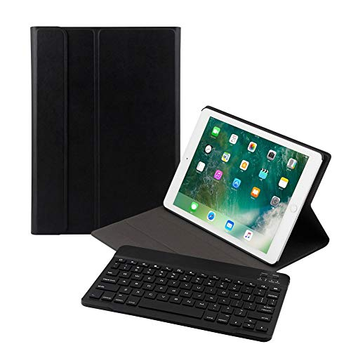 Ewin キーボード キーボードカバー 脱着式Bluetooth  保護ケース スタンド機能付き 超軽量 スマートスリープ New iPad 9.7/iPad Air/iPad Air2/iPad Pro 9.7 iPadカバー通用 B07BNYXH9P 1枚目