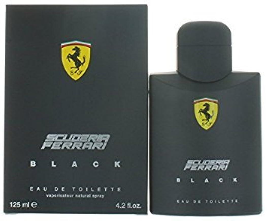 パッケージ成功する取り出すFERRARI フェラーリ フェラーリブラック 125ml メンズ 香水 (並行輸入品)