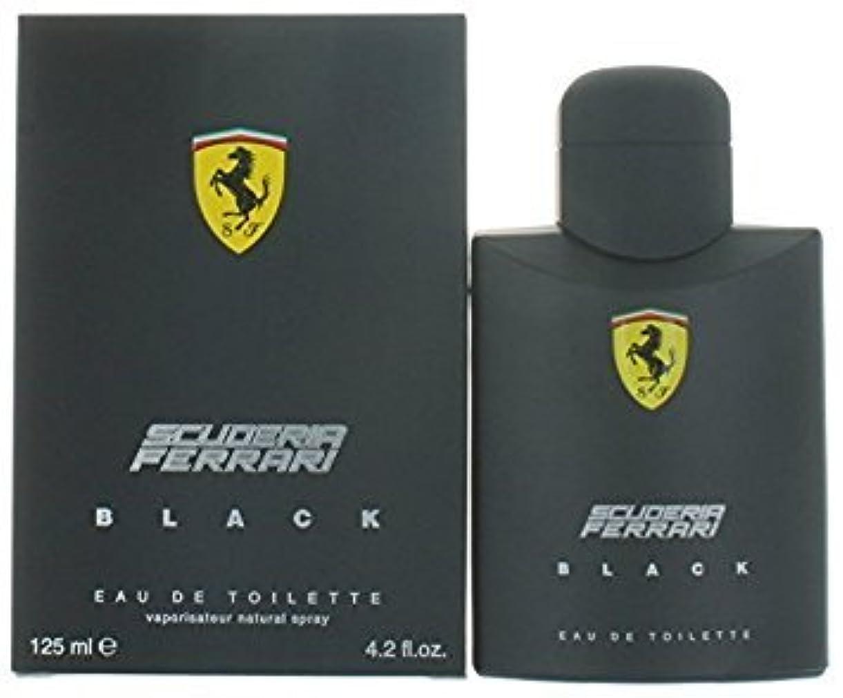 邪悪なずらす考慮FERRARI フェラーリ フェラーリブラック 125ml メンズ 香水 (並行輸入品)