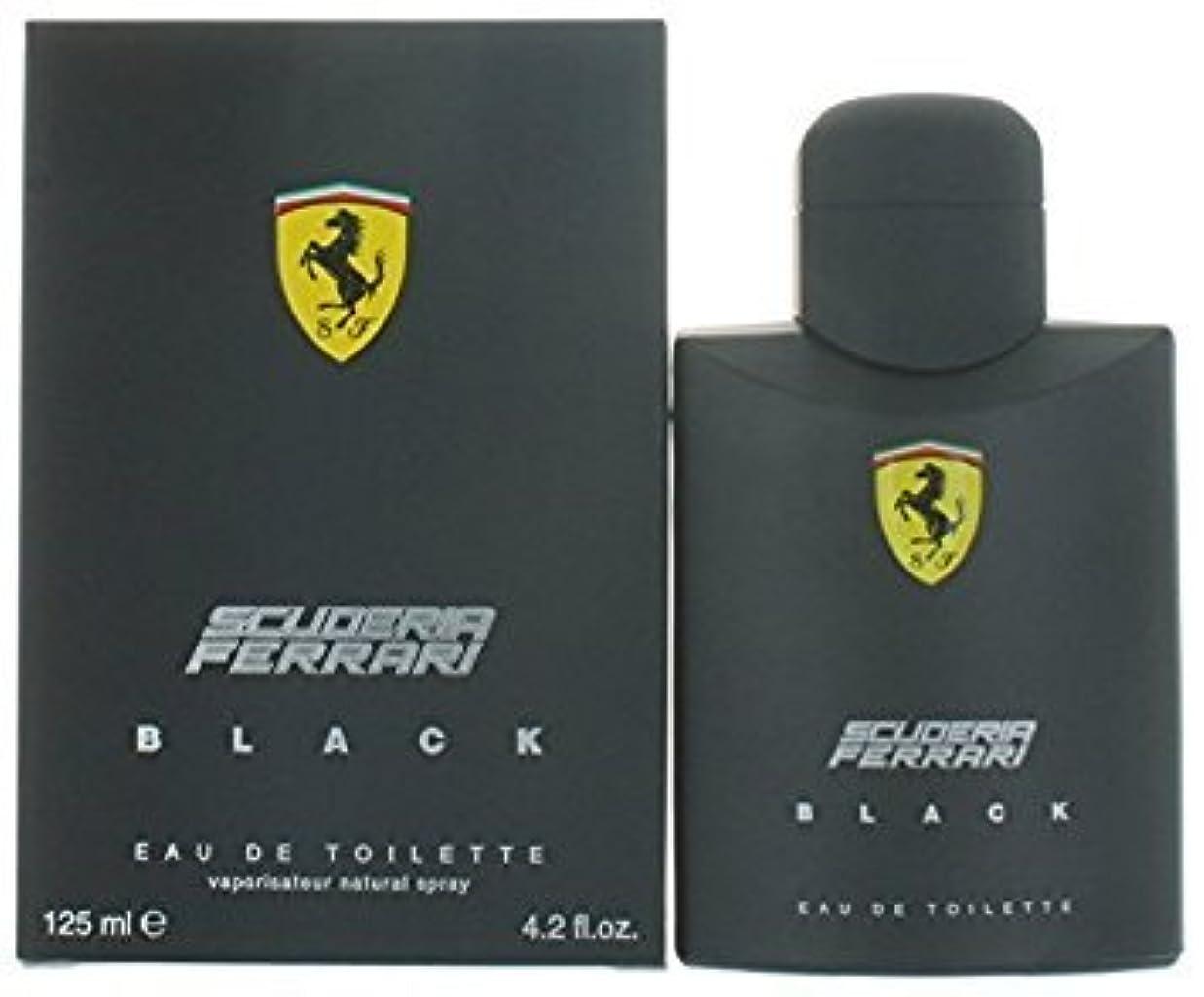 二週間発送春FERRARI フェラーリ フェラーリブラック 125ml メンズ 香水 (並行輸入品)
