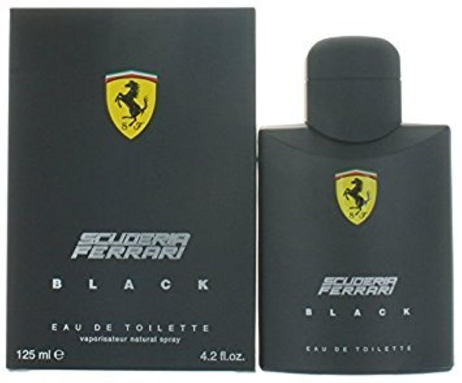 蓋見出しどれでもFERRARI フェラーリ フェラーリブラック 125ml メンズ 香水 (並行輸入品)