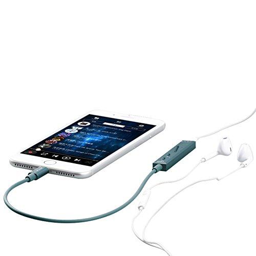 SMSL ヘッドホンアンプ DACデコーダー 48kHz iCON Apple Lighting Appleスマホンにむいて