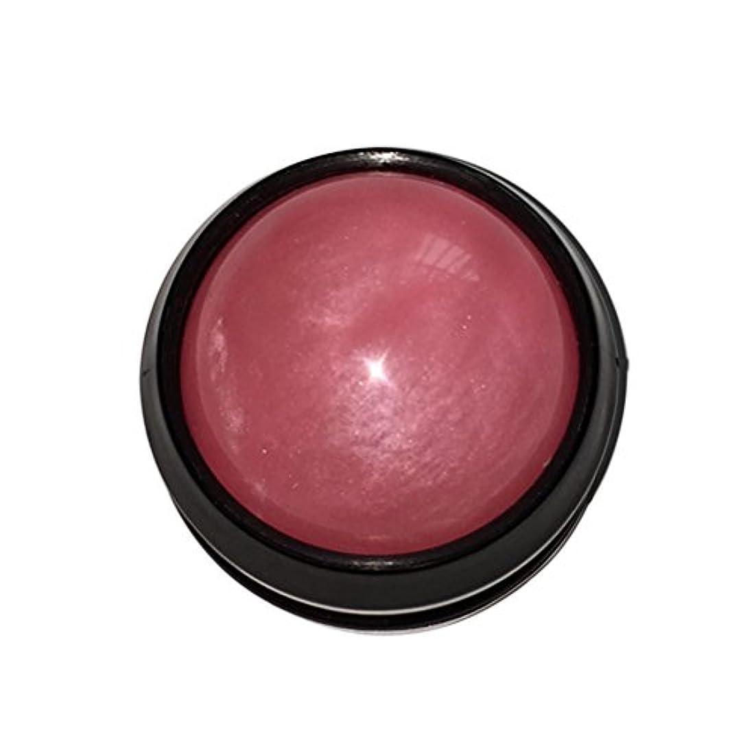 ULTNICE マッサージ ボール リラックスボール ボディ ローラー ほぐし 健康器具 血行促進 解消 360度回転(ピンク)