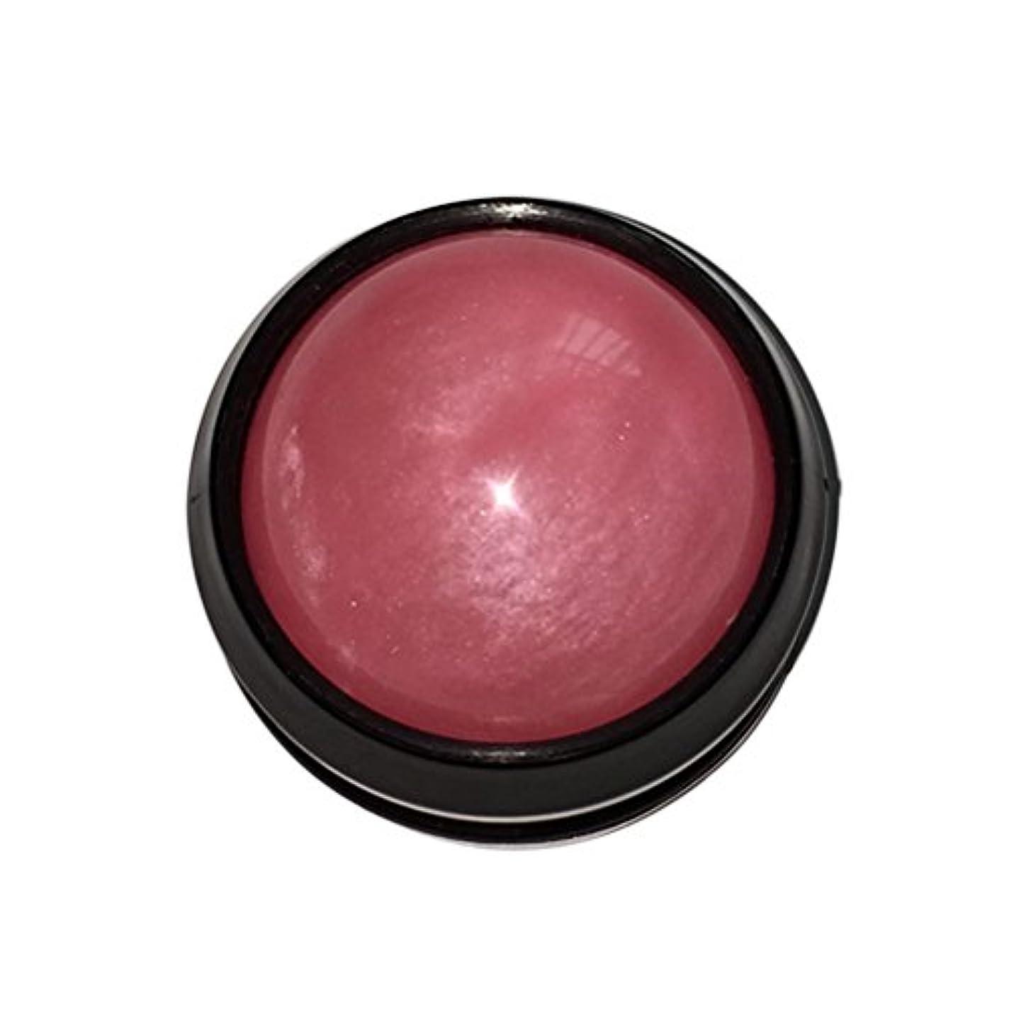 カプラー雑草腹ULTNICE マッサージ ボール リラックスボール ボディ ローラー ほぐし 健康器具 血行促進 解消 360度回転(ピンク)