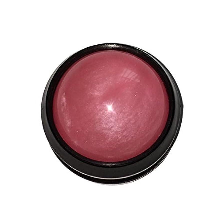 破壊レザー連帯ULTNICE マッサージ ボール リラックスボール ボディ ローラー ほぐし 健康器具 血行促進 解消 360度回転(ピンク)