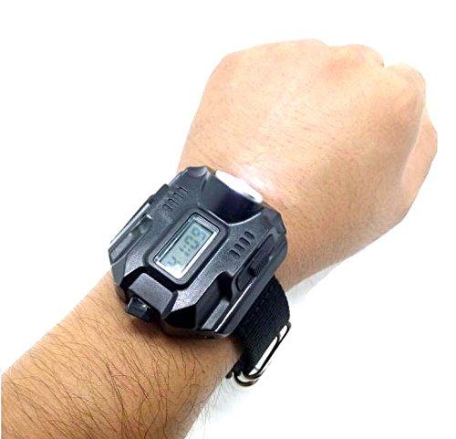 Eornmor充電式 腕時計型 1000ルーメン強力ライト L...