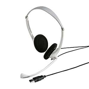 サンワサプライ USBヘッドセット/ヘッドホン ホワイト MMZ-HSUSB10W