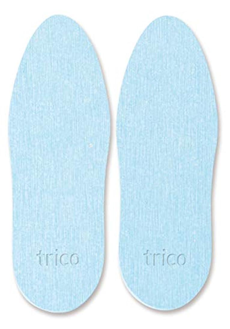 減らす追放する。trico 靴の消臭 珪藻土 シューズドライプレート ブルー CTZ-18-02