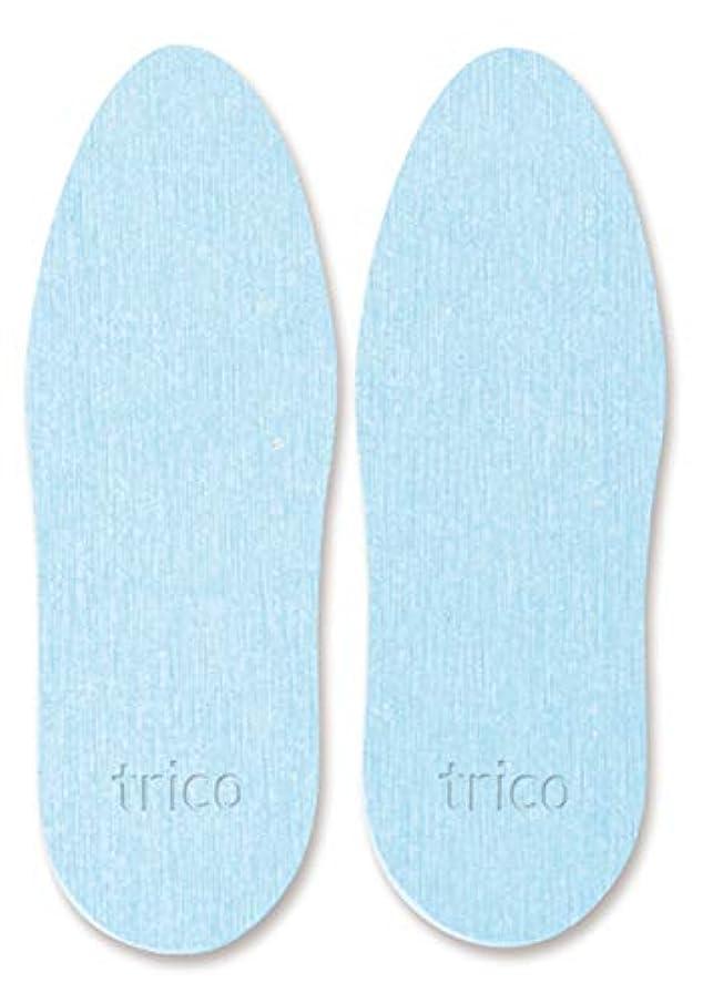 そっと鯨十代の若者たちtrico 靴の消臭 珪藻土 シューズドライプレート ブルー CTZ-18-02