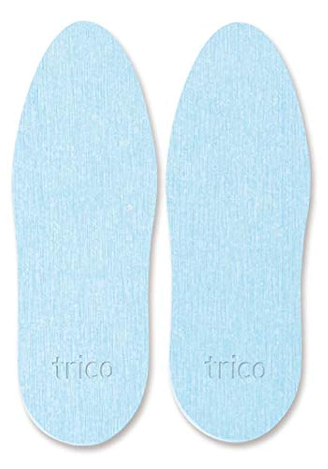trico 靴の消臭 珪藻土 シューズドライプレート ブルー CTZ-18-02