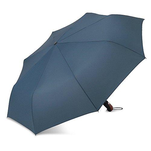 PLEMO 折り畳み傘 自動開閉おりたたみ傘 ワンタッチ自動開閉 特別8本傘骨 携帯用 紳士傘 113cm ネイビーブルー
