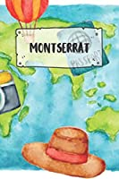 Montserrat: Ruled Travel Diary Notebook or Journey  Journal - Lined Trip Pocketbook for Men and Women with Lines