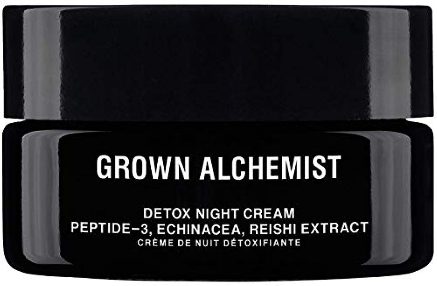 ネスト爆発破壊Grown Alchemist Detox Night Cream - Peptide-3, Echinacea & Reishi Extract 40ml/1.35oz並行輸入品