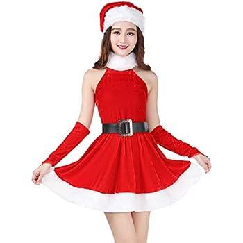 9365d1ad415e0 サンタ衣装 コスチューム 赤 レディース クリスマス コスプレ 大きいサイズ セクシーサンタ ワンピース もこもこ Christmas サンタ服
