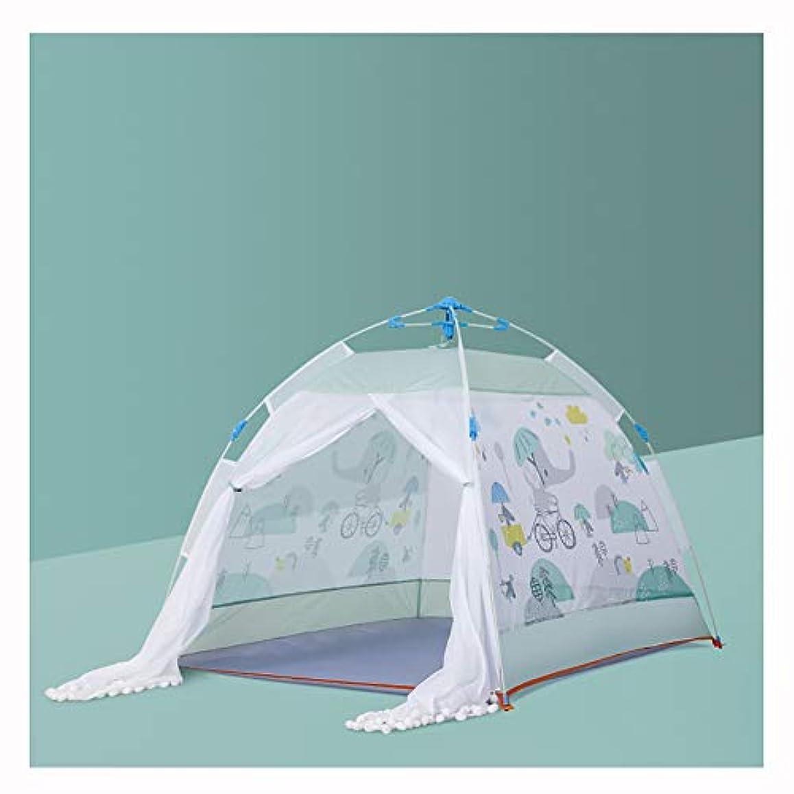 出発する周波数幸福子供の遊びのテント、子供の遊び場のテント - 屋外と屋内の遊び場のテント - 3-8歳児用,B