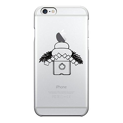 iPhone6 Plus iPhone6S Plus アイフォン ソフト クリアケース カバー ジャケット 保護フィルム付 お正月