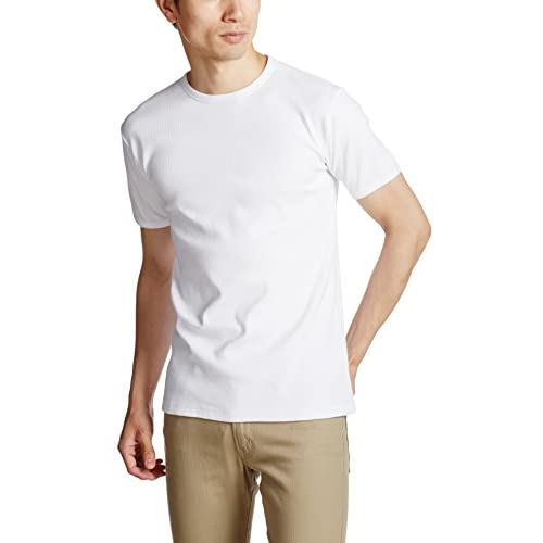 (アヴィレックス)AVIREX AVI-DAILY CREW S/S 6143502 1 WHITE M Tシャツ