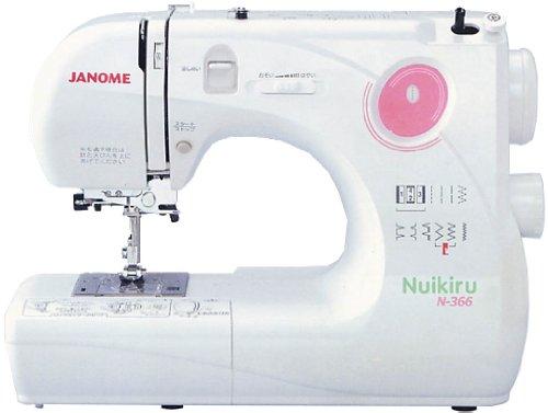 JANOME コンパクト電子速度制御ミシン 【Nuikiru】 N-366
