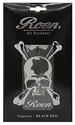 ノルコーポレーション ルームフレグランス ロエン エアーフレッシュナー 吊り下げ型 ブラックキス OA-REN-1-1 車用芳香剤