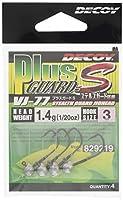 カツイチ(KATSUICHI) ジグヘッド デコイ VJ-77 プラスガードS #3-1.4g.